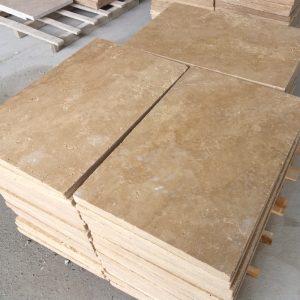 3x40,6x61 cm Eskitme Traverten Karo