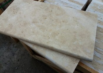 3x30,5x61 cm Traverten Bulnose-ET115
