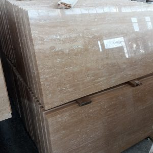 3x40x80 cm Dolgulu Cilalı VC Traverten-DT104